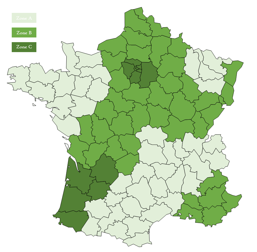 Carte Scolaire de la France